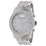 Iced Out Watches: Luxurman Mens Genuine  90956 1