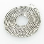 Mens White-Gold Franco Link Chain Length 79077 1