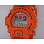 Aqua Master Shock Digital Watch Orange 27746 2