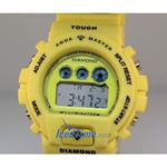 Aqua Master Shock Digital Watch Yellow 27740 2