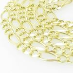 Mens Yellow-Gold Figaro Link Chain Lengt 79193 2
