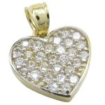 Womens 10k Yellow gold Multiple stone cz 83633 1