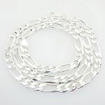 Figaro link chain Necklace Length - 24 i 73236 1