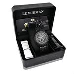 Mens Phantom Black Genuine Diamond Luxur 90807 4