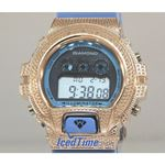 Aqua Master Shock Diamond Mens Rose Watch