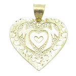 Ladies 10K Solid Yellow Gold mom pendant 87752 1