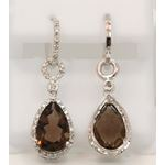 Sterling Silver Gemstone European Drop E 80609 3
