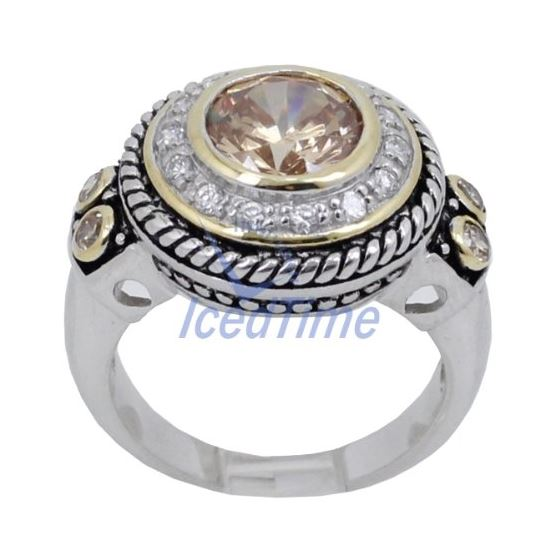 Ladies .925 Italian Sterling Silver Spring Citri-2