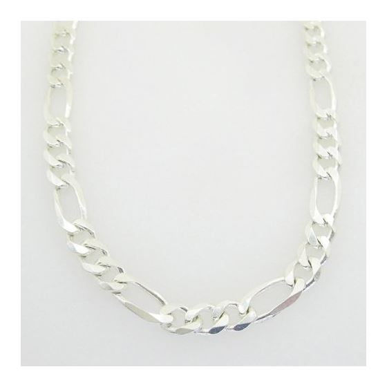 Figaro link chain Necklace Length - 30 i 73287 3