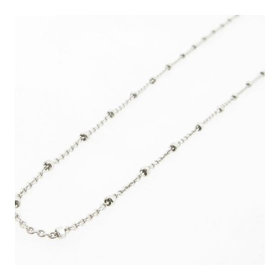 925 Sterling Silver Italian Chain 20 Inches Long-3