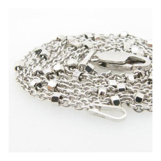 925 Sterling Silver Italian Chain 22 inc 71616 2