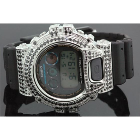 Iced Out Watches Casio G Shock Mens Digital Watch