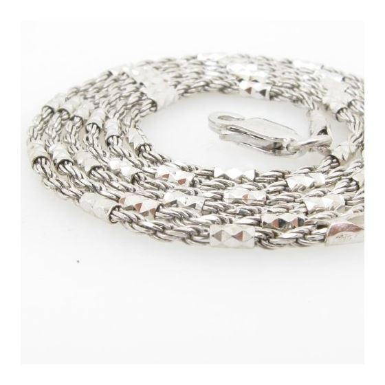 925 Sterling Silver Italian Chain 22 inc 71581 2