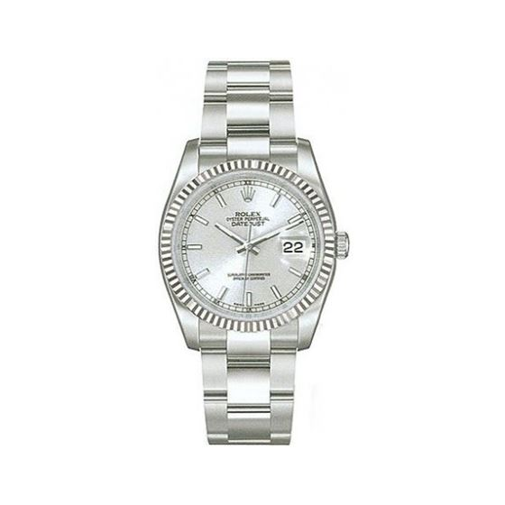 Rolex Oyster Perpetual Datejust Mens Watch 116234-