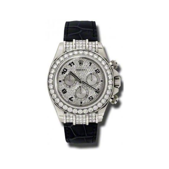 Rolex Watches  Daytona White Gold  Diamond Bezel 1