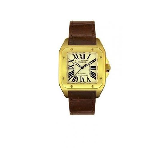 Cartier Santos 100 Mens Watch W20078Y1