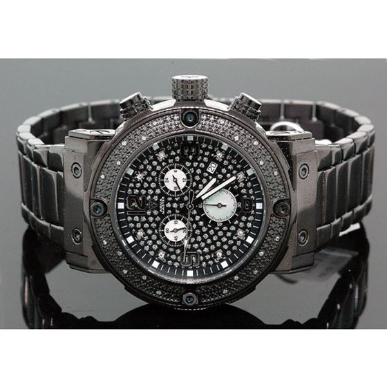 Aqua Master Mens Diamond Watch 0.20ct w- 28061 1