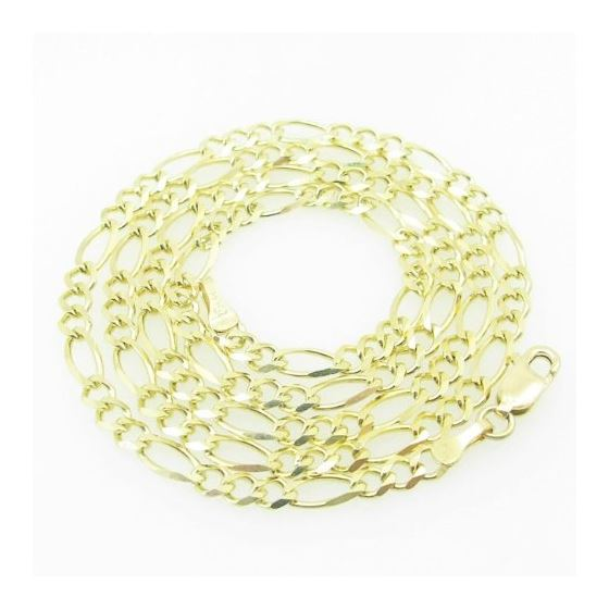 Mens Yellow-Gold Figaro Link Chain Lengt 79171 1