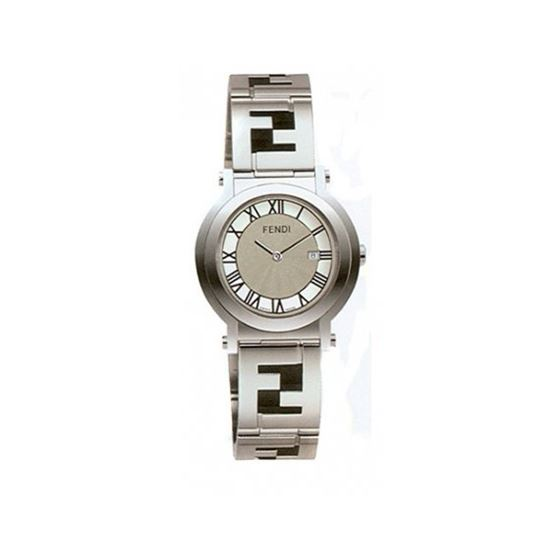 FENDI ROUND QUADRO Mens Watch F615160 53636 1