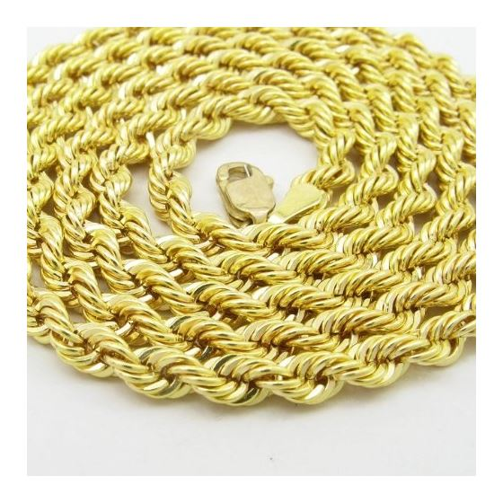Mens 10k Yellow Gold rope chain ELNC14 2 77858 2