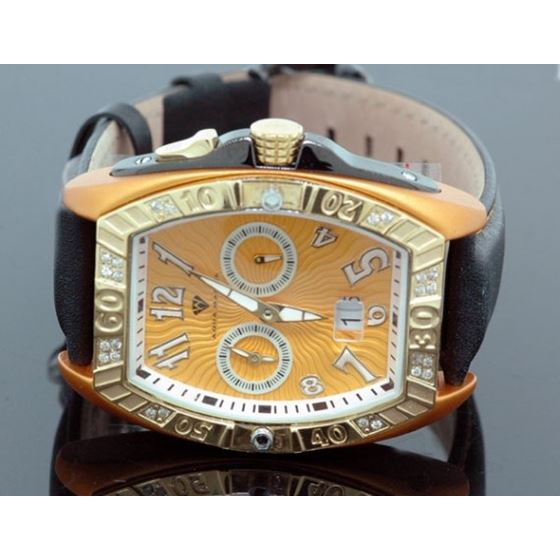 Aqua Master Tonneau 0.50ctw Mens Diamond Watch W31