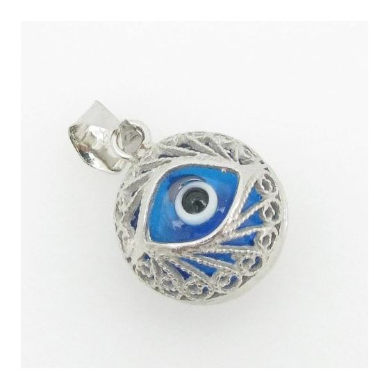 womens bp138 kabbalah evil eye .925 Sterling Sil-2