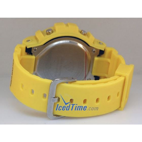 Aqua Master Shock Digital Watch Yellow 27741 3