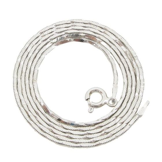 925 Sterling Silver Italian Chain 24 inches long a