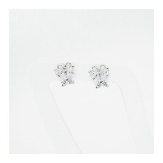 14K Gold Earrings heart star flower dolp 63636 3