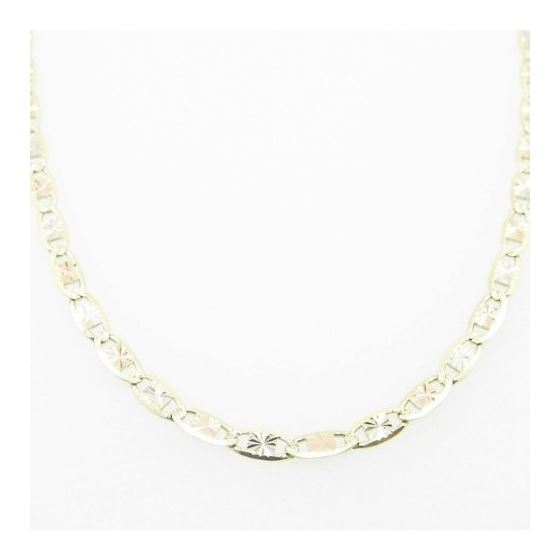 Mens Yellow-Gold Fancy Link Chain Length - 18 inch