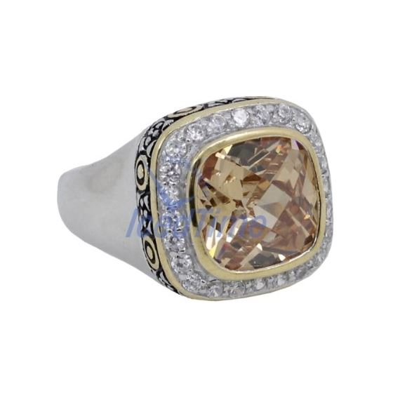 Ladies .925 Italian Sterling Silver Spring Citri-4