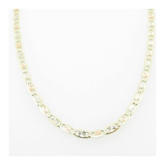 Mens Yellow-Gold Fancy Link Chain Length - 20 inch