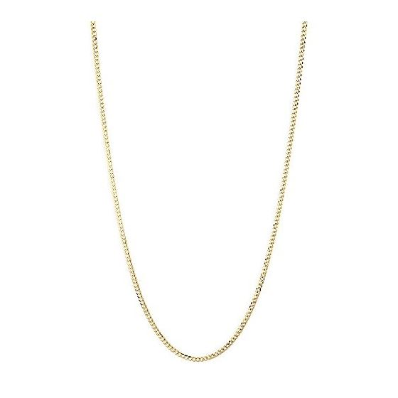 Mens Yellow-Gold Cuban Diamond Cut link  79112 3