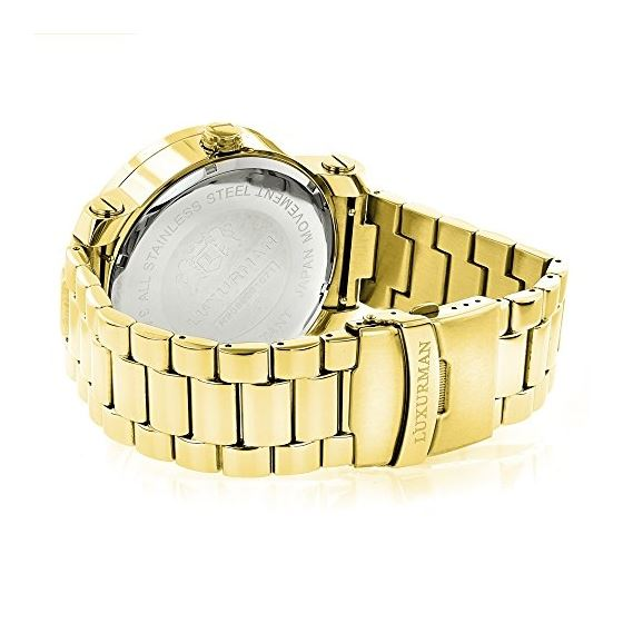 Phantom Yellow Gold Plated Genuine Diamo 91121 2