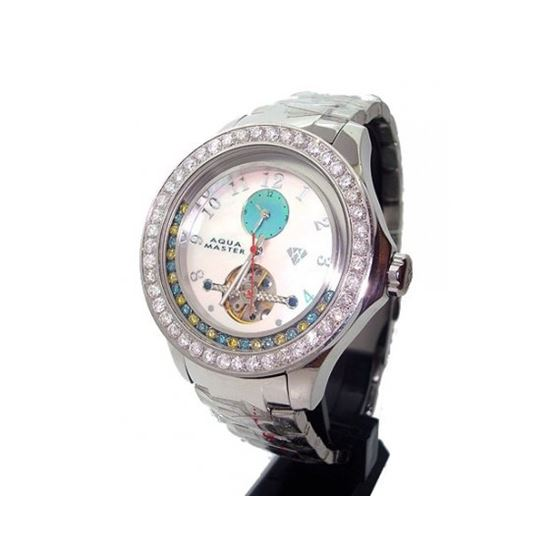 Aqua Masters 5.75ctw Automatic Diamond Watch