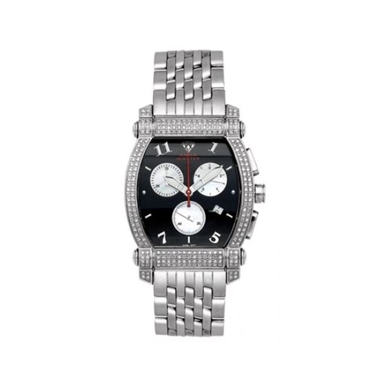 Aqua Master Diamond Watch Unisex Stainless Steel W