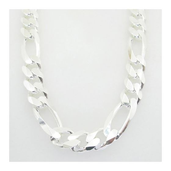 Figaro link chain Necklace Length - 24 i 73189 3