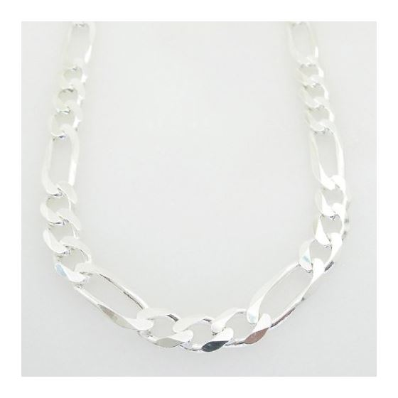 Figaro link chain Necklace Length - 30 inches Widt