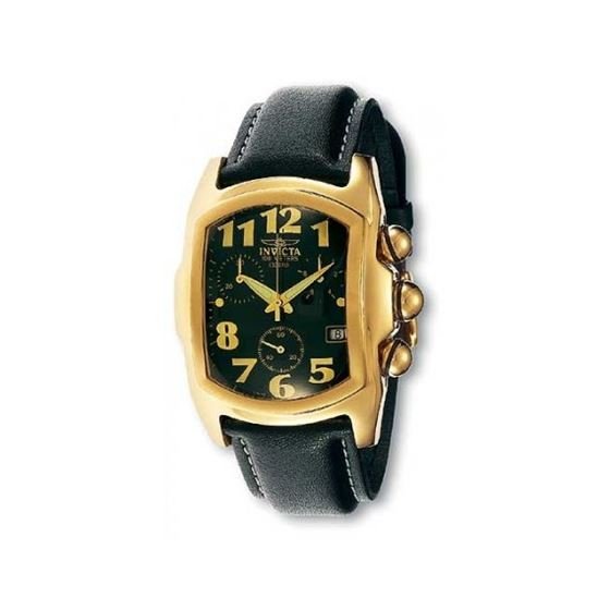 Invicta Lupah Gold Mens Watch 9891