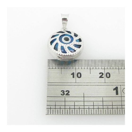 womens bp144 kabbalah evil eye .925 Sterling Silve