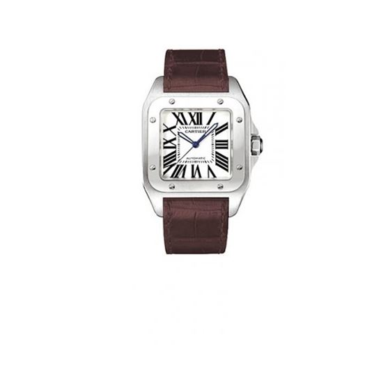 Cartier Santos 100 XL Mens Watch W20073X8BR