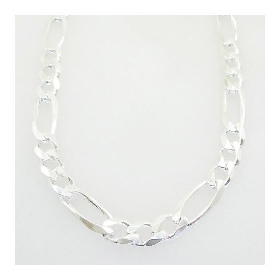 Figaro link chain Necklace Length - 24 inches Widt