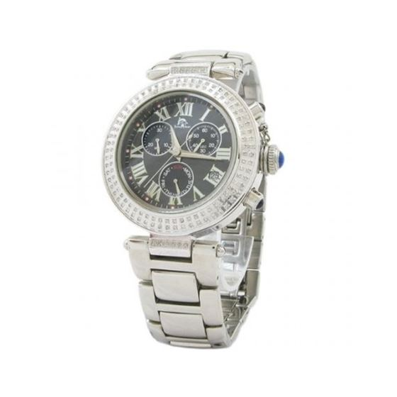Techno Master Womens Diamond Watch 1ct t 28129 1