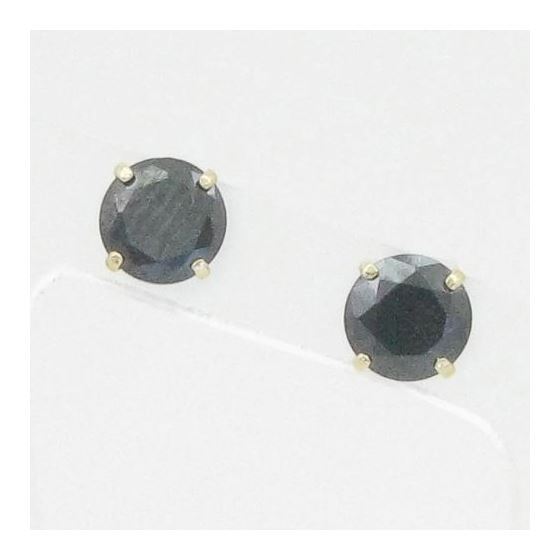 Unisex 14K solid gold earrings fancy stu 82294 1