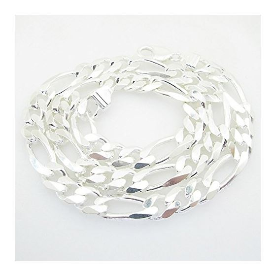 Figaro link chain Necklace Length - 24 i 73187 1