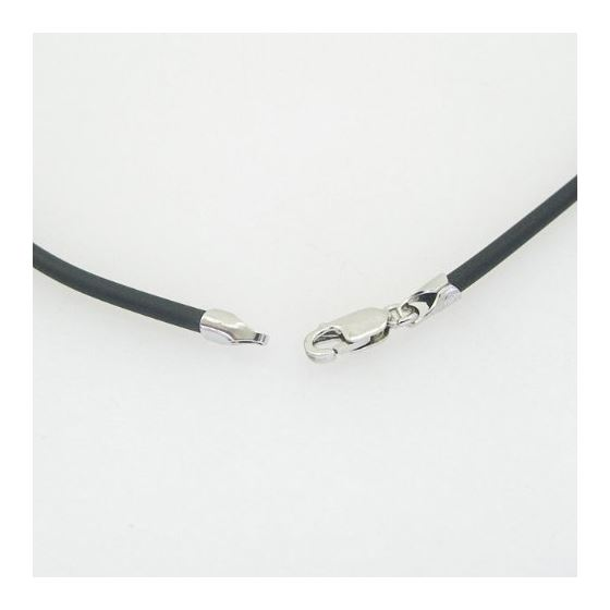 Unisex genuine leather braided cuff crystal neckla