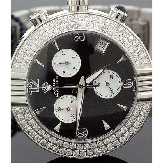 Ladies Aqua Master Diamond Watch 2.80 ct w-94a