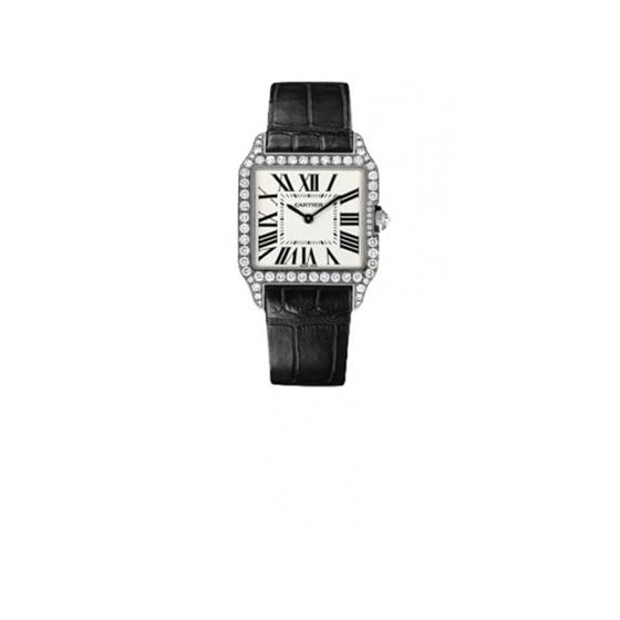 Cartier Santos-dumont Small Solid Gold Watch WH100