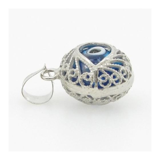 womens bp138 kabbalah evil eye .925 Sterling Sil-3