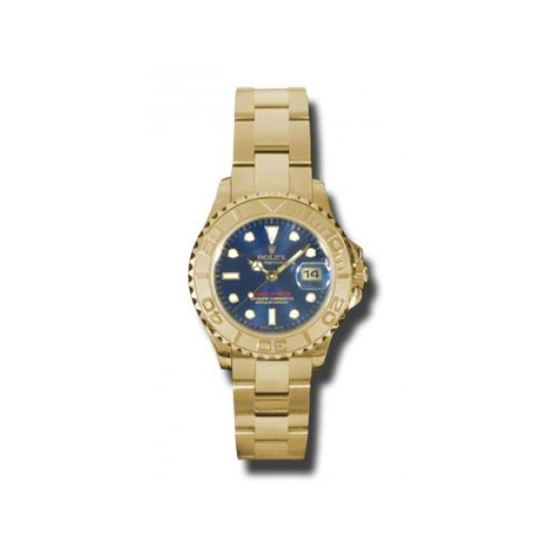 Rolex Watches  YachtMaster Lady Gold 169628 b